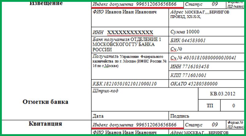 Что такое индекс документа