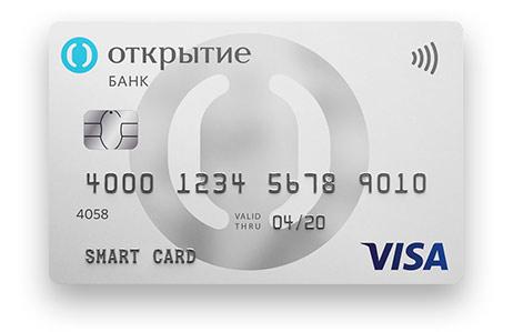 Смарт карта банк открытие дебетовая