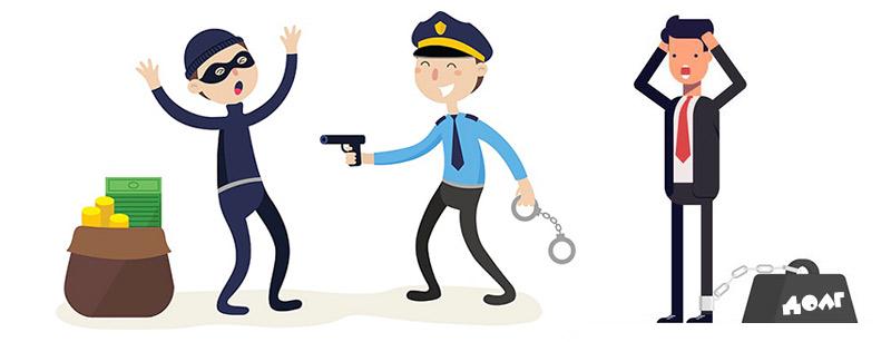 уголовное наказание за просрочку по кредиту
