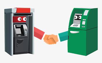 банкоматы партнёры