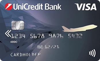 дебетовая карта visa air от unicredit банк