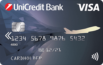 дебетовая карта visa air unicredt bank