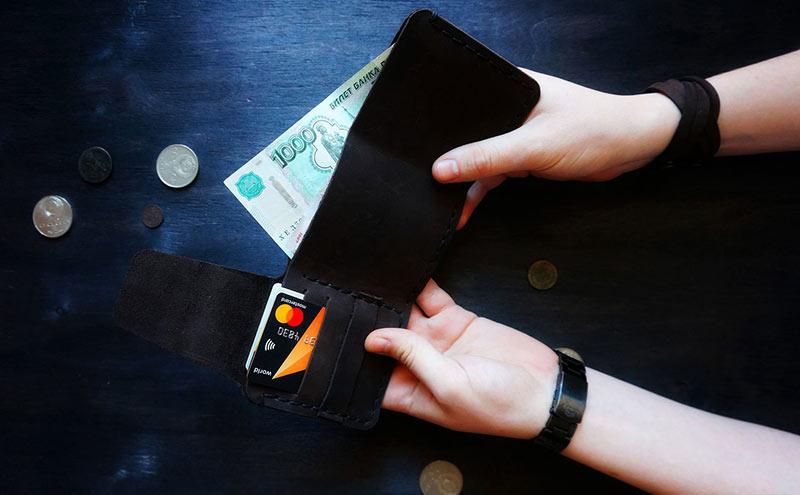 деньги и кошелёк