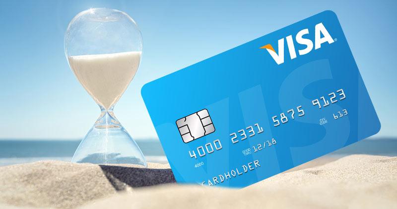 сколько делается кредитная карта по времени