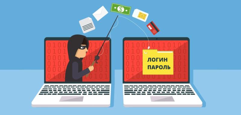 фишинг украли логин и пароль