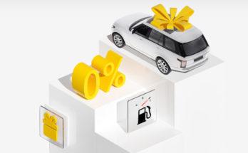Акция: Тинькофф дарит автомобиль